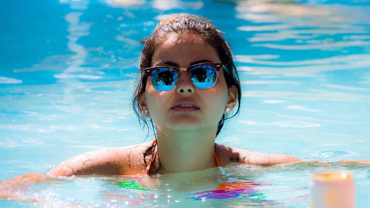 nos réalisations nager dans sa piscine Minard
