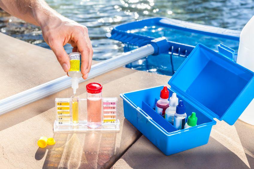 test eau des piscines