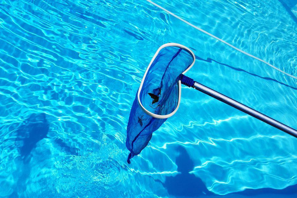 épuisette piscines